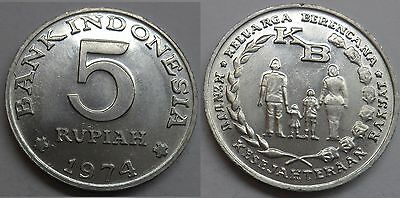 "Indonesien 10 Rupiah 1974 ""F.A.O. - National Saving Program"""