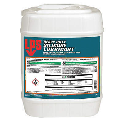 LPS Heavy Duty Silicone Lubricant,Wht,5 gal., 01505