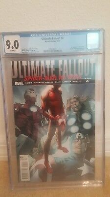 CGC 9.0 Ultimate Fallout #4  First 1st Miles Morales Spider-Man FREE SHIPPING