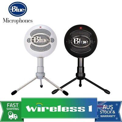 Blue Microphones Snowball iCE USB Microphone with HD Audio | Black // White