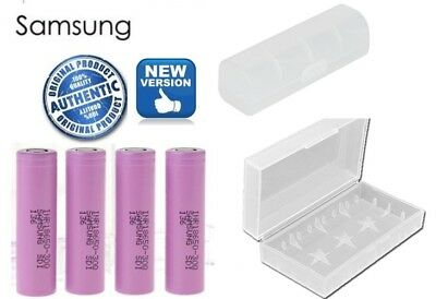 GENUINE Samsung 18650 Lithium 30Q 3000mAh 15A Li-ion Battery Battery Free CASE