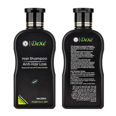 Dexe Chinese Herbal Anti-Hair Shampoo Avoid Hair Loss Treatment for Unisex 200ml