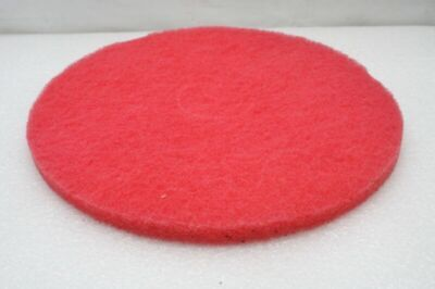 "7x etc. Floor Buffing Pads (RED) 17"" Diameter - Medium"