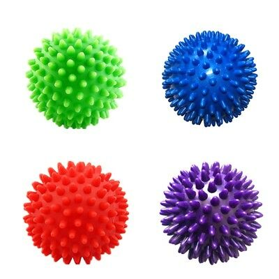 Massage Spiky Ball Foot Roller Therapy Balls Point Stress Relief Pain Muscle US