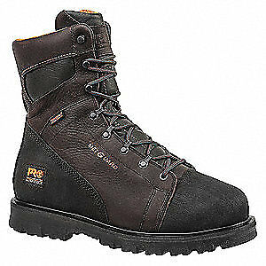 TIMBERLAND PRO Work Boots,Alloy,Mens,13M,8In,Brn,PR, 89649, Brown