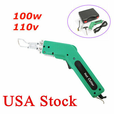 Durable & Practical Handheld Hot Heating Knife Cutter for Fabric & Rope 110V USA