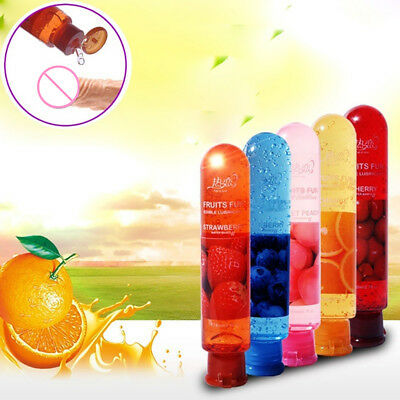 Adult Body Smooth Fruity Lubricant Gel Edible Flavor Sex Health Product Nice