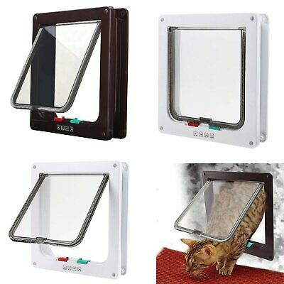 Pet Safe Staywell Original 4-Way Pet Door Dog and Cat Flap Small Medium Large UK