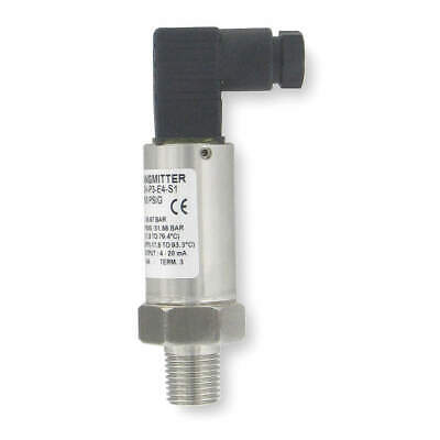 DWYER INSTRUMENTS Pressure Transducer,0 to 15 PSI,+/-1Pct, 628-07-GH-P1-E4-S1