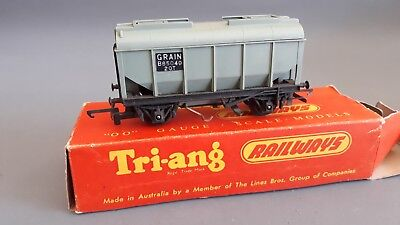 Triang Moldex R215 Bulk Grain Wagon Very Good Condition Boxed Oo Gauge(Gn)
