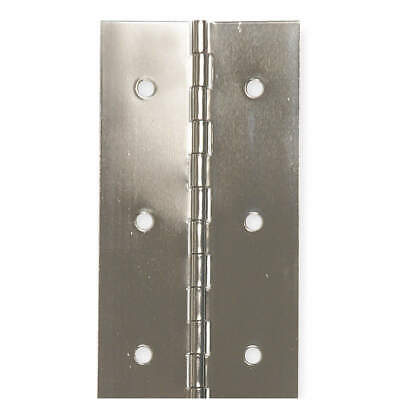 GRAINGER APPROVED Stainless Steel Continuous Hinge,4 ft. L,1-1/2 In. W, 1JEJ6
