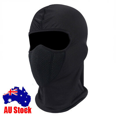 Outdoor windproof Motorcycle Bike Riding Full Face Mask Head Cover Balaclava AU