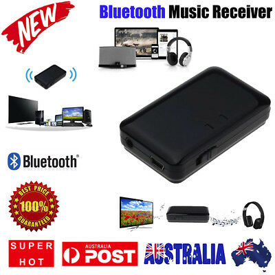 3.5mm Wireless Bluetooth Music A2DP Stereo HiFi Audio Dongle Adapter Receiver AU