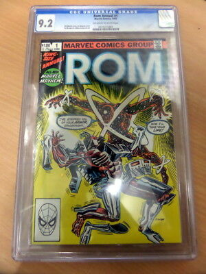 ROM Spaceknight Kingsize Annual 1 - November 1982 - Graded 9.2 by CGC