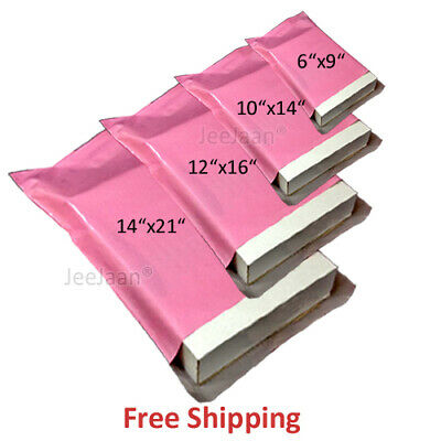Pink Mailing Bags Postal mix sizes  Envelopes Self Seal Post Bags