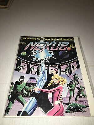 Nexus #1 (1981, Capital Comics) RARE 1ST APP NEXUS FN/VF