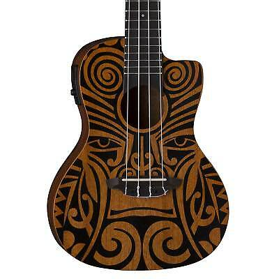 GUT: Luna Guitars UKETRIBALCEL Ukulele