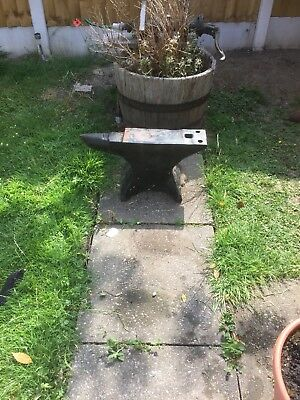 Blacksmiths Anvil with stand