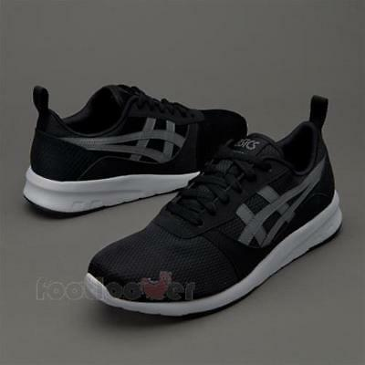 Shoes Asics Lyte Jogger H7G1N 9097 Mens Black Carbon Casual Fashion Sneakers