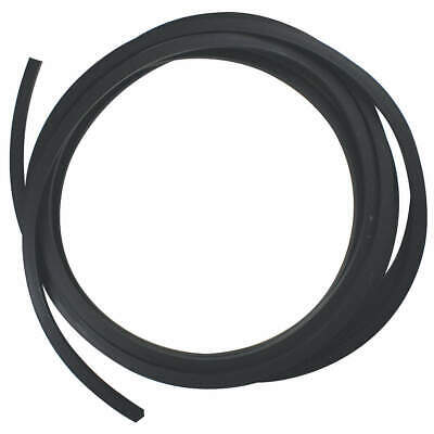 E. JAMES Buna-N Rubber Cord,Buna,3/16 In,10 Ft., SCSBUNA-3/16-10, Black