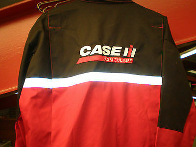 Case IH Tractor Adult Case IH Boilersuit Overalls Adults Red With Black Adult's
