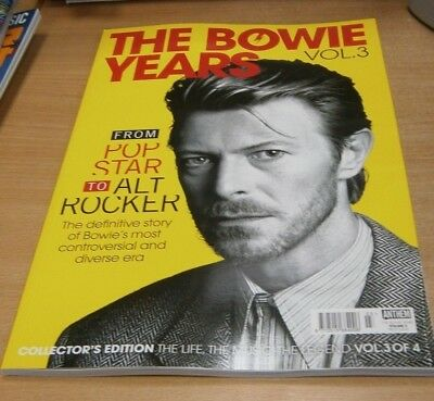 The Bowie Years magazine Volume 3 Collector's Edition Pop Star to Alt Rocker