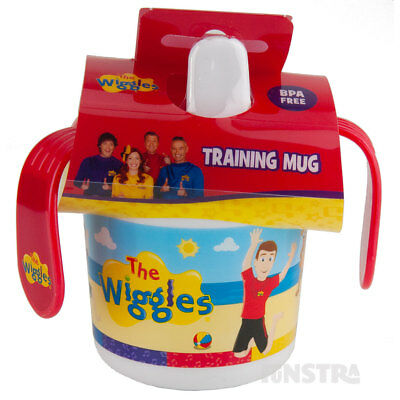 The Wiggles Training Cup Kids Girls Boys Wiggles Sippy Cup Mug New