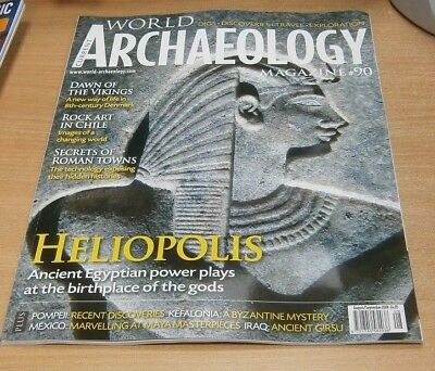 Current World Archaeology magazine #90 AUG/SEP 2018 Heliopolis, Pompeii, Iraq &