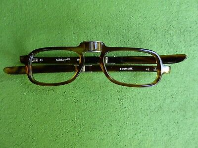 Stylish Italian Kador 'Exquisite' Folding Spectacles with case - never worn