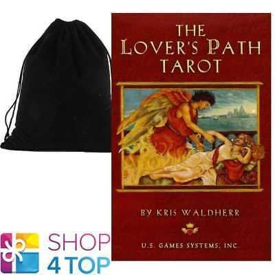 The Lover's Path Tarot Cards Deck Esoteric Astrology With Velvet Bag New