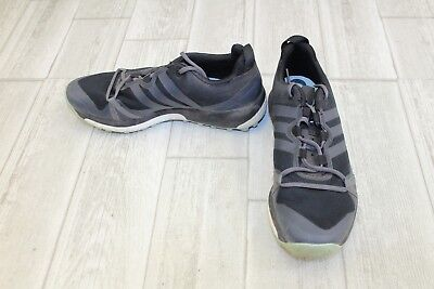 sports shoes 6d058 dd17e Adidas Outdoor Terrex Agravic Trail Running Shoe - Women s Size 7, Black  Slate