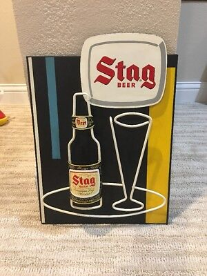 1950's Stag Beer 3D Sign / St.Louis Beer