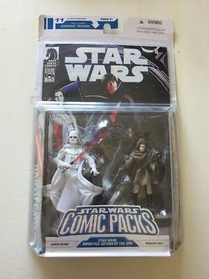 Star Wars Comic Packs 11 Action Figures New Sealed Darth Vader Leia Infinities