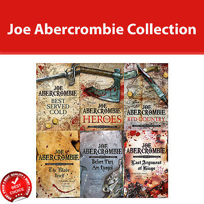 Joe Abercrombie First Law Series Collection 6 Books Set Fiction Pack NEW [PB]