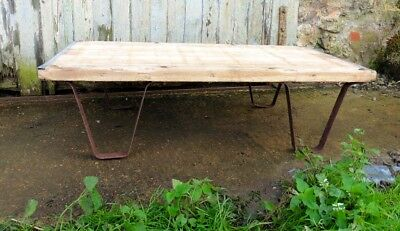 Stylish Designer Coffee Table, Industrial Antique