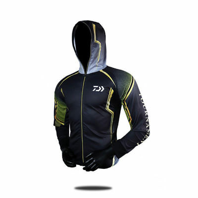 Fishing Clothing Hooded Quick-drying Sportwear UV Protection Clothes Summer Tops