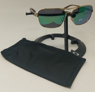 Oakley Sunglasses Sanctuary Polished Gold Jade Iridium Polarized Lens Oo4116-07