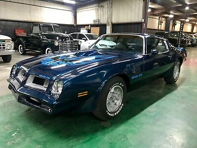 1975 Pontiac Trans Am 4 Speed 1975 Pontiac Trans Am 400 / 4 Speed