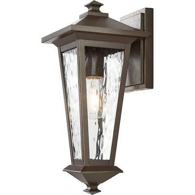 Home Decorators Collection 1-Light Oil Rubbed Bronze with Gold Highlights 8 in.