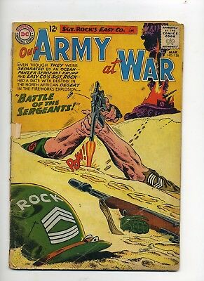 Our Army at War #128 1963