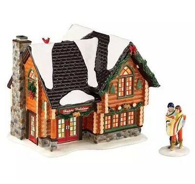 "Department 56 Snow Village Series ""winter Retreat"" Limited Edition 2011"