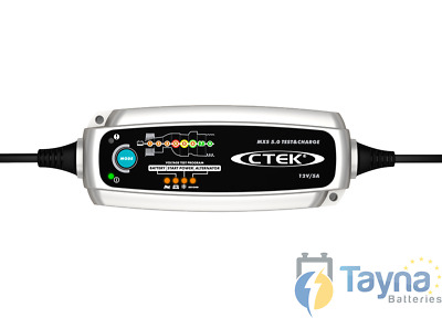 Ctek MXS 5.0 Test and Charge - Tests and Charges 12V Batteries