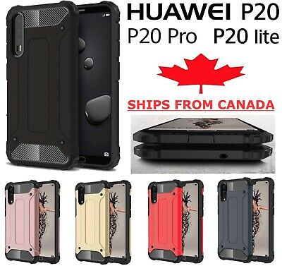For Huawei P20 / Pro Lite Shockproof Heavy Duty Armor Defender Hard Cover Case