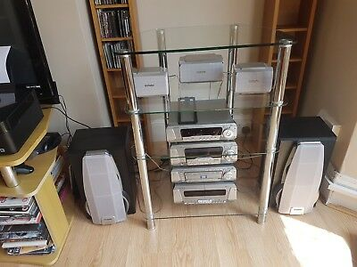 Technics Complete Music System SH- DV290 With Surround Sound
