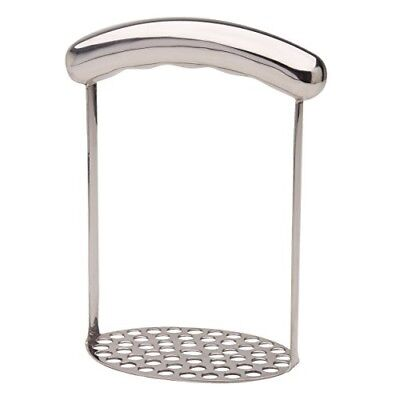 KitchenCraft Short-Handled Round Potato Masher, 7 x 11 x 16 cm (3` x 4.5` ...