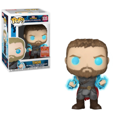 Funko Pop Marvel Thor Ragnarok Thor with Odin Force Summer Convention SDCC 2018
