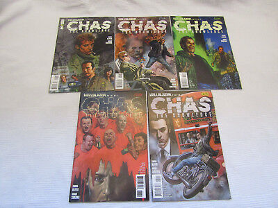 Chas the Knowledge - issues #1-5 - complete set - Hellblazer