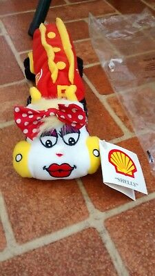Shelly Shell Oil Company Tanker Truck Plush Toy Advertisement Gas Station NWT