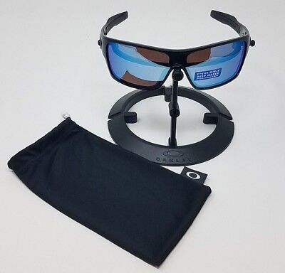 c7bfd532eb8 Oakley Turbine Rotor Sunglasses Polished Black Polarised Deepwater OO9307-08