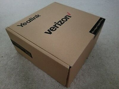 Verizon Yealink SIP-T46G 6-Line Gigabit VoIP Phone (Still has plastic cover!)